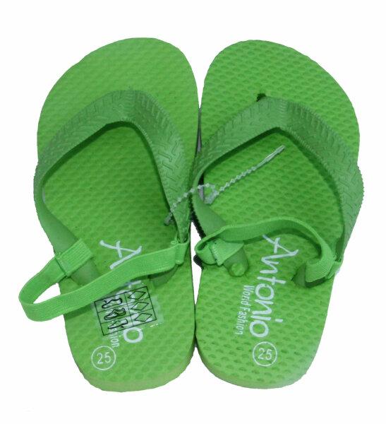 "Beach Slipper ""Kinder"" grün 30"