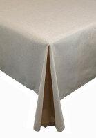 """Tischdecken-Serie """"Panama Uni"""" oval 135 x 180 Sand"""