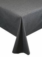 "Tischdecken-Serie ""Panama Uni"" oval 135 x 180 Grau"