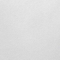 """Tischdecken-Serie """"Panama Uni"""" oval 130 x 220 Weiß"""