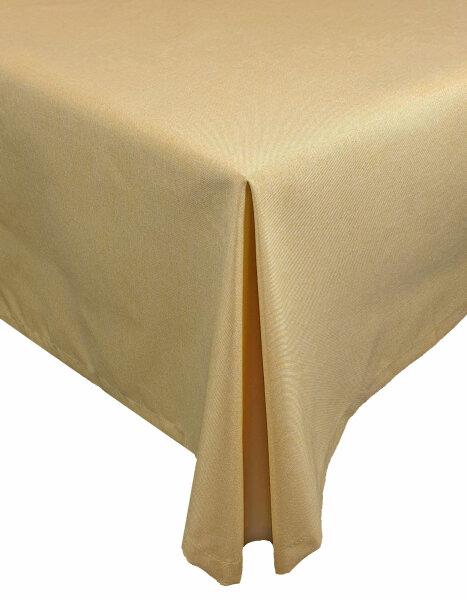 """Tischdecken-Serie """"Panama Uni"""" oval 160 x260 Gelb"""