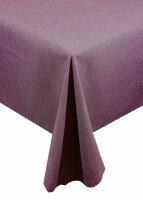"Tischdecken-Serie ""Panama Uni"" oval 160 x260 Lila"
