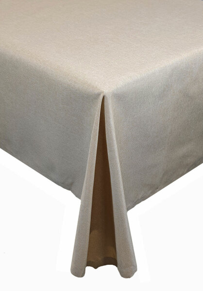 """Tischdecken-Serie """"Panama Uni"""" Läufer eckig 40 x 140 Sand"""