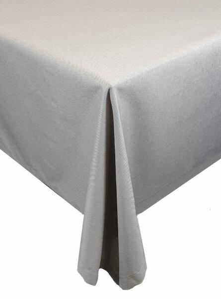 """Tischdecken-Serie """"Panama Uni"""" Läufer eckig 33 x 160 Hellgrau"""
