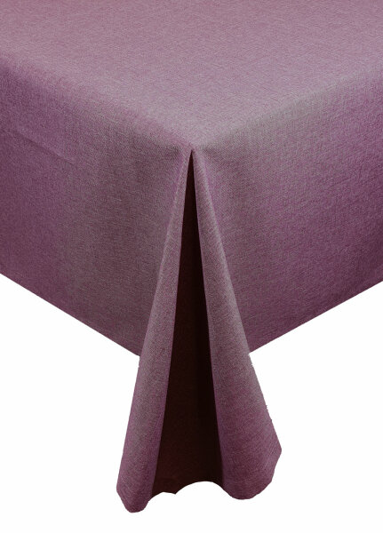 "Tischdecken-Serie ""Panama Uni"" Serviertten 4er Pack 50 x 50 Lila"