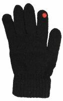 "Smartphone-Damen-Handschuhe ""Classic"" Schwarz"