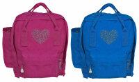 """Kinder Rucksack """"Prinzessin"""" Blau und Pink..."""