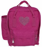 """Kinder Rucksack """"Prinzessin"""" Blau und Pink Kindergartenrucksack Pink"""