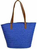 """Beach Bag """"Basket"""" aus gewebten Papierfasern"""