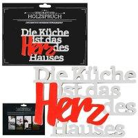 """Deko """"Holzspruch M"""""""
