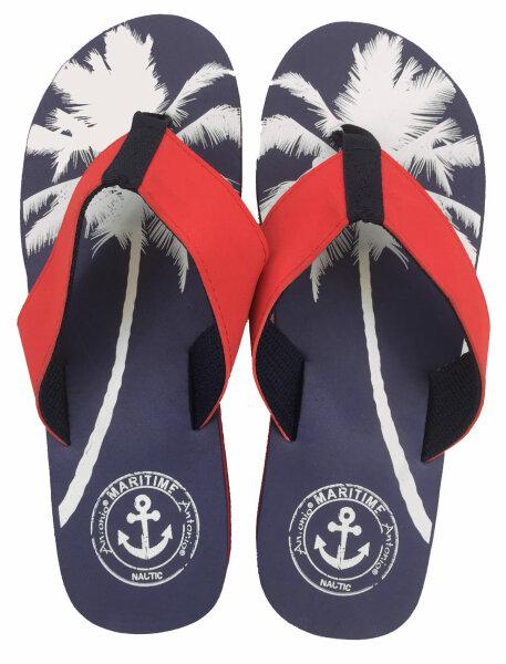 """Lady Beach Slipper """"Palm Beach"""" 38/39 Blau"""