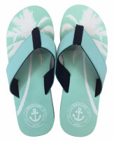 "Lady Beach Slipper ""Palm Beach"" 38/39 Mint"