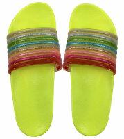 """Damen Slipper """"Rainbow"""""""