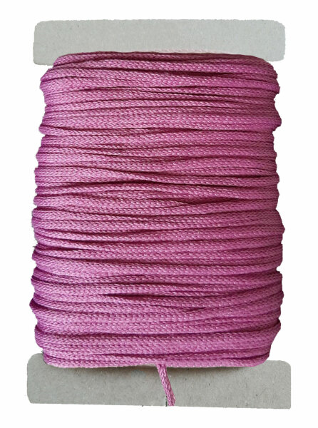 15 m Maskengummi Pink 3 mm