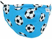 "Kinder Mundschutz-Maske ""Cool Kids"" mit Aktivkohlefilter Fussball"