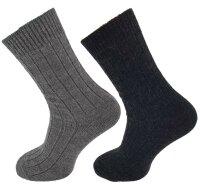 "2er Pack Alpaka Socken ""Mixed"" Unisex im tollen Farbmix"
