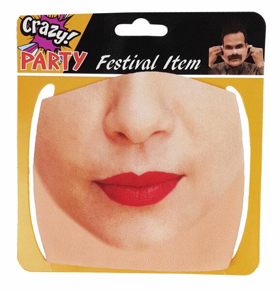 "Mund-Nasenbedeckung ""Face"" Frau 1"