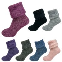 Damen Thermo Socken Fluffy superflauschig