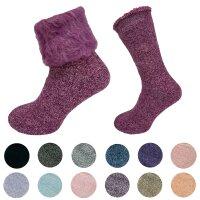 "Damen Thermo Socken ""Fluffy"" superflauschig"