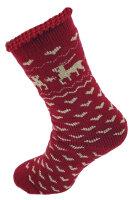 """Damen Thermo Socken """"Elch"""" superflauschig"""