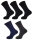 5er Pack Thermo Socken Unisex 35 - 38