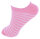 """10er Pack Kinder Sneaker Socken """"Einhorn"""" mit Einhorn-Haargummi"""
