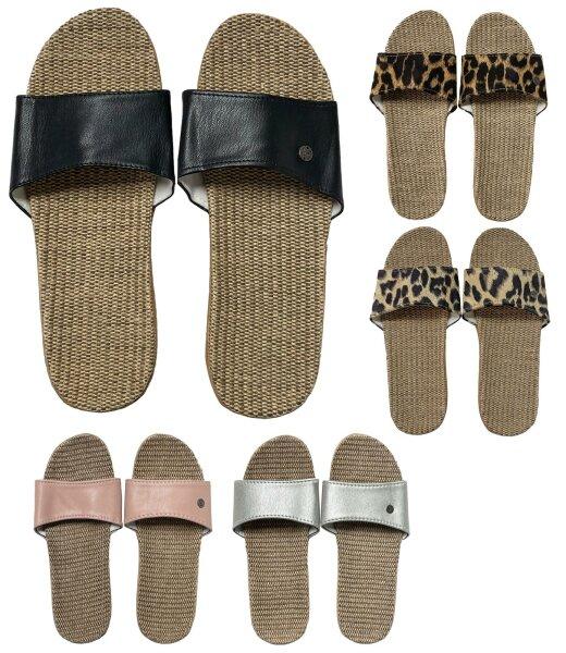 """Damen Slipper """"Nature"""" leichte Sommer Sandale"""