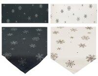 Winter Tisch-Mitteldecke 85 x 85 cm/-Läufer 40 x 160...