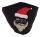 """Mundschutz-Maske mit Aktivkohle-Filter """"X-MAS""""  Baumwoll-Mischgewebe Santa Merry Christmas"""