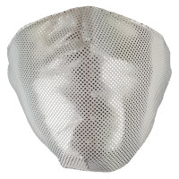 "Mundschutz-Maske ""Glamour"" 70% Baumwoll-Anteil 3-lagig"