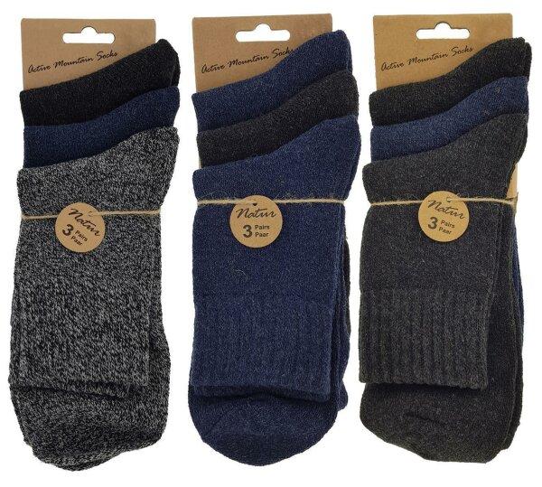 "3er Pack Damen-Wander Socken ""Hiking"""