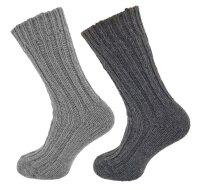 """2er Pack Alpaka Socken """"Duo"""" Unisex"""