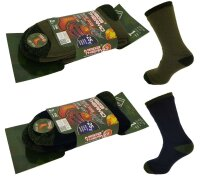 Herren Thermosocken Army