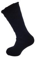 """Herren Socken """"Top Thermo Uni"""" 47-50 Schwarz Uni"""