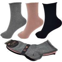 "3er Pack Damen Socken ""Anti Stress"" mit Komfortbund"
