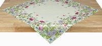 """Tisch-Mitteldecke """"Blumen"""" 85 x 85 cm..."""