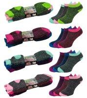 """3er Pack Damen Sneaker Socken """"Flexy"""" schnell..."""
