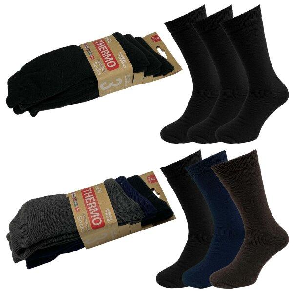 """3er Pack Herren Thermo Socken """"Skandinavia"""""""