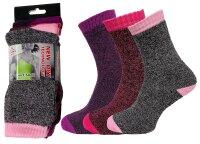 "3er Pack Damen Sport Socken ""Flexy Max"" schnell trocknend"