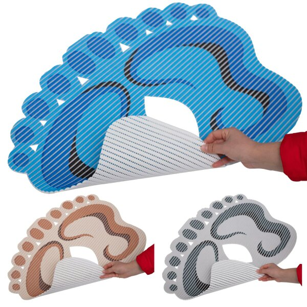 "Antirutsch-Duschmatte ""Footprint"""