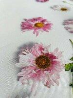 """Tisch-Mitteldecke """"Blütenpracht"""" 85 x 85 cm pflegeleichte Tischdecke für Küche, Garten, Balkon und Co."""