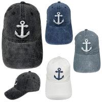 """Cap """"Anchor"""" Vintage Style, hochwertige Stickerei"""