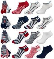 """3er Pack Damen Sneaker Socken """"Anker &..."""