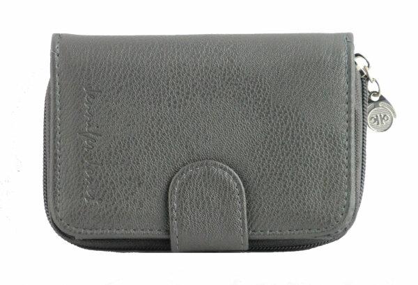 """Damengeldbörse """"Luna"""" stone top Ausstattung Mid-Size Portemonnaie mit seperatem Reißverschlussfach für Münzgeld"""