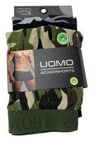"3er Pack Herren Boxershorts ""Camouflage"" Baumwolle Shorts"