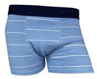 "2er Pack Herren Boxershorts ""Stripe"" Baumwolle Shorts"