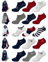 """3er Pack Herren Sneaker Socken """"Maritim"""" hoher..."""