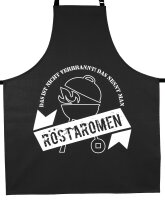 """Grill Schürze """"Röstaromen"""" für Damen und Herren Unisex"""