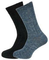 """2er Pack Alpaka Socken """"Yadiel"""" Unisex..."""