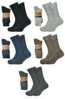 """2er Pack Norweger Grobstrick Socken """"Ben""""..."""